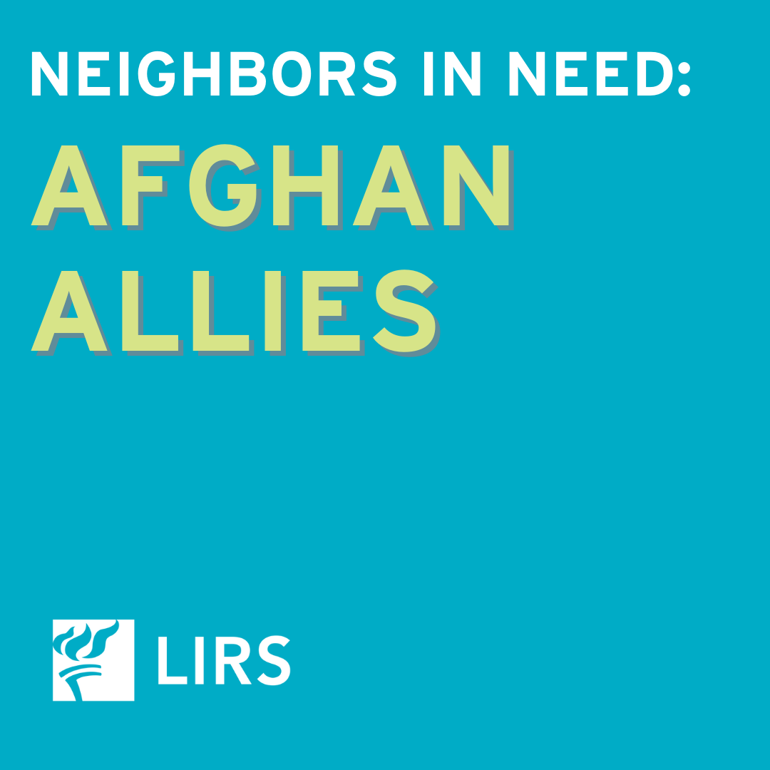 Support Afghan Allies